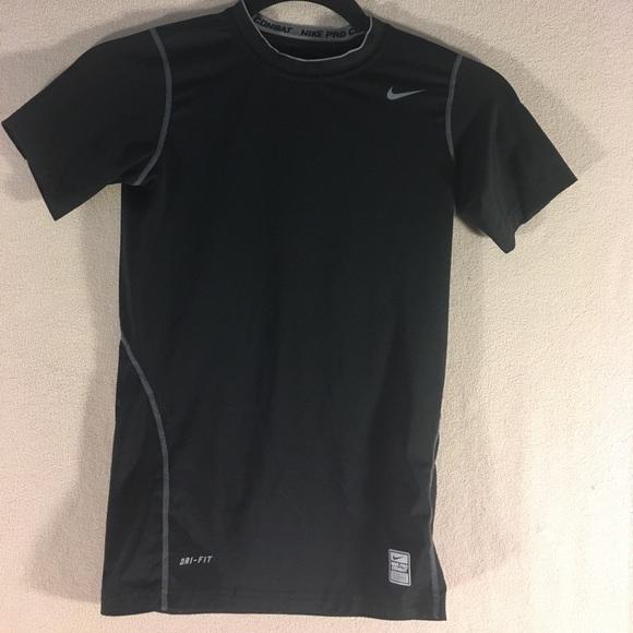 c1b1b4cd Nike Shirts & Tops | Boys Pro Combat Drifit Tshirt | Poshmark